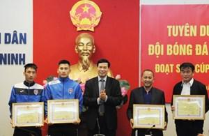 CLB bóng đá Than Quảng Ninh được thưởng 1 tỷ đồng