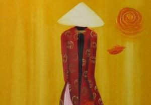 Cổ truyền, truyền thống và...  áo dài cách tân