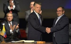 Colombia đầy tin tưởng khi ký kết thỏa thuận hòa bình mới