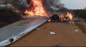 Colombia: Rơi máy bay, 14 người thiệt mạng