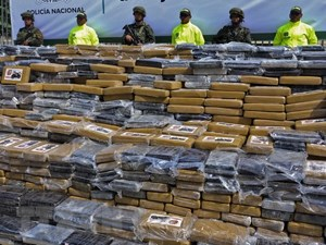 Colombia thu giữ hơn 2,2 tấn cocaine