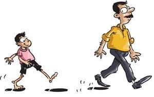 Con cái luônnoi gương cha mẹ