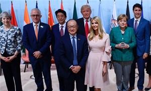 Con gái rượu của Tổng thống Trump gây tranh cãi sau thượng đỉnh G20