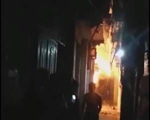 Con rể đốt nhà bố vợ trong đêm khiến cháu bé 6 tuổi bỏng nặng