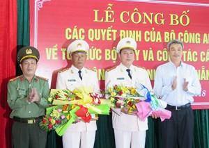 Công an TP Đà Nẵng có hai tân Phó Giám đốc