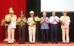 Công an TP Hà Nội có 3 tân Phó Giám đốc