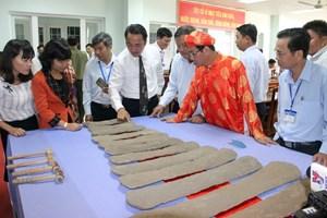 Công bố bảo vật quốc gia Đàn đá thời tiền sử