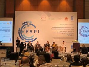 Công bố Chỉ số PAPI 2018: Tham nhũng vẫn là quan ngại lớn