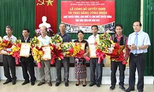 Công nhận danh hiệu 6 làng nghề truyền thống xứ Huế