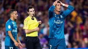C.Ronaldo lĩnh án treo giò 5 trận vì đẩy trọng tài