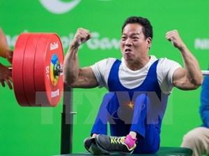 Cử tạ Việt Nam giành 2 HCV, phá sâu 2 kỷ lục tại ASEAN Para Games