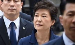 Cựu tổng thống Hàn Quốc bị thẩm vấn lần hai