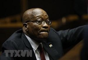 Cựu Tổng thống Nam Phi Jacob Zuma bị thẩm vấn