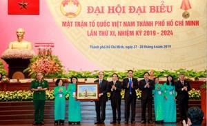 BẢN TIN MẶT TRẬN: Chủ tịch Trần Thanh Mẫn dự Đại hội đại biểu MTTQ TP Hồ Chí Minh lần thứ XI