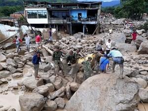 Đã có 200 người thiệt mạng trong vụ lở đất xảy ra tại Colombia