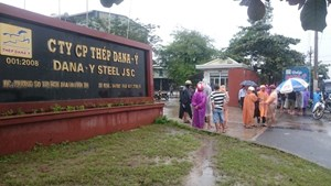 Đà Nẵng: Đình chỉ hoạt động 2 nhà máy thép gây ô nhiễm