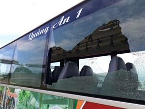 Đà Nẵng: Đối tượng ném đá, phá hoại xe buýt nghiện ma túy