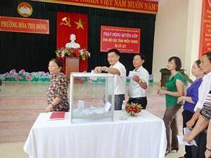 Đà Nẵng: Phường Hòa Thọ Đông phát động quyên góp ủng hộ đồng bào miền Trung bị lũ lụt