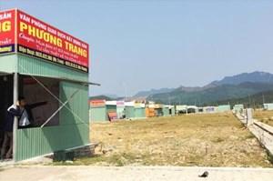 Đà Nẵng tháo dỡ nhiều kiốt chào bán bất động sản trái phép