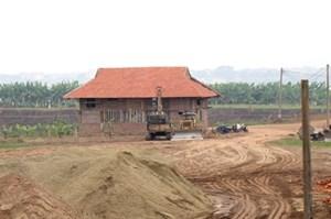 Đại gia khoáng sản đã tháo dỡ nhà sàn xây dựng trái phép