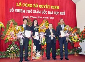 Bổ nhiệm 3 Phó Giám đốc Đại học Huế