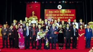 Đại hội đại biểu Hội Chữ thập đỏ tỉnh Tuyên Quang lần thứ VII