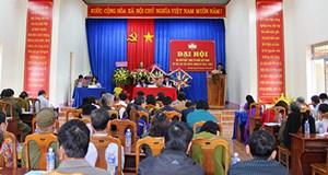 Đại hội đại biểu Mặt trận Tổ quốc Việt Nam xã Tân Lập