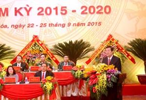 Đại hội Đảng bộ tỉnh Thanh Hóa lần thứ XVIII: Thẳng thắn nhìn nhận tiềm năng, thế mạnh của tỉnh