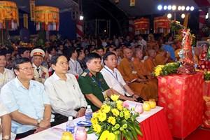 Đại lễ cầu siêu cho các Anh hùng liệt sĩ tại nghĩa trang Việt - Lào