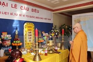 Đại lễ cầu siêu cho các anh hùng liệt sỹ tại chùa Từ Ân Berlin