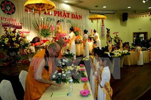 Đại lễ Phật Đản được tổ chức ở nhiều địa phương của Cộng hòa Séc