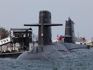 Đài Loan tự đóng 8 tàu ngầm