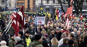 Đại sứ quán Nga lên án cuộc diễu hành của các cựu binh Waffen-SS tại Latvia