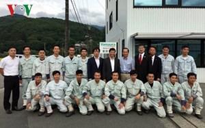 Đại sứ Việt Nam tại Nhật Bản hỗ trợ thực tập sinh điều trị bệnh