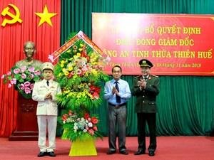 Đại tá Nguyễn Quốc Đoàn giữ chức Giám đốc Công an tỉnh Thừa Thiên - Huế