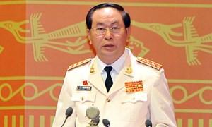 Đại tướng Trần Đại Quang: Củng cố phong trào Toàn dân bảo vệ an ninh Tổ quốc