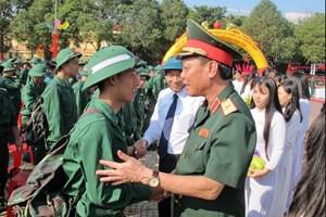 Đắk Lắk: 2.799 thanh niên hăng hái lên đường nhập ngũ