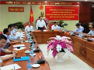 Đắk Lắk còn 5 cấp phó vượt quy định tại các Sở ngành