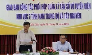 Đắk Lắk: Giao ban công tác phối hợp quản lý tần số vô tuyến điện khu vực Nam Trung Bộ và Tây Nguyên