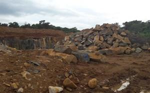 Đắk Nông chỉ đạo xử lý vụ khai thác đá không phép
