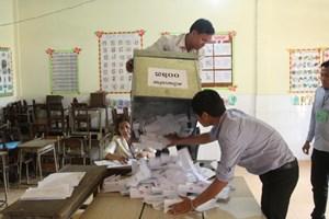Đảng cầm quyền Campuchia thắng lớn trong bầu cử