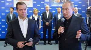 Đảng của ông Putin thắng lớn trong bầu cử Hạ viện Nga