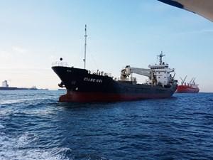 Đang khẩn trương kiểm tra thông tin tàu Giang Hải bị cướp