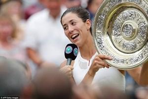 Đánh bại Venus, Muguruza lần đầu lên ngôi vô địch Wimbledon