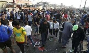 Đánh bom liều chết ở thủ đô Iraq, 30 người thương vong
