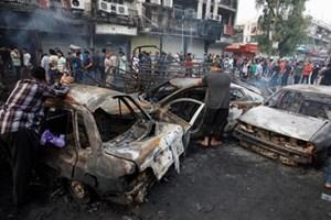 Đánh bom xe tại miền Tây Iraq
