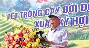 Tổng Bí thư, Chủ tịch nước: Trồng thêm cây xanh góp phần hạn chế ô nhiễm môi trường