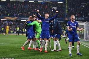 'Đấu súng' nghẹt thở, Chelsea vào chung kết Europa League