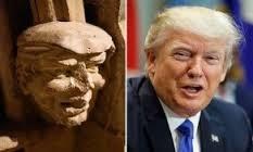 Đầu tượng 700 năm tuổi giống hệt ông Donald Trump