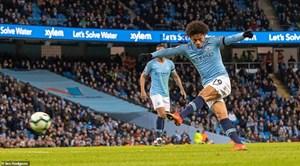 De Bruyne, Sane tỏa sáng, Man City trở lại ngôi đầu bảng